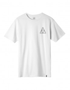 לצפייה במוצר HUF ESSENTIALS TRIPLE TRIANGLE T-SHIRT - WHITE